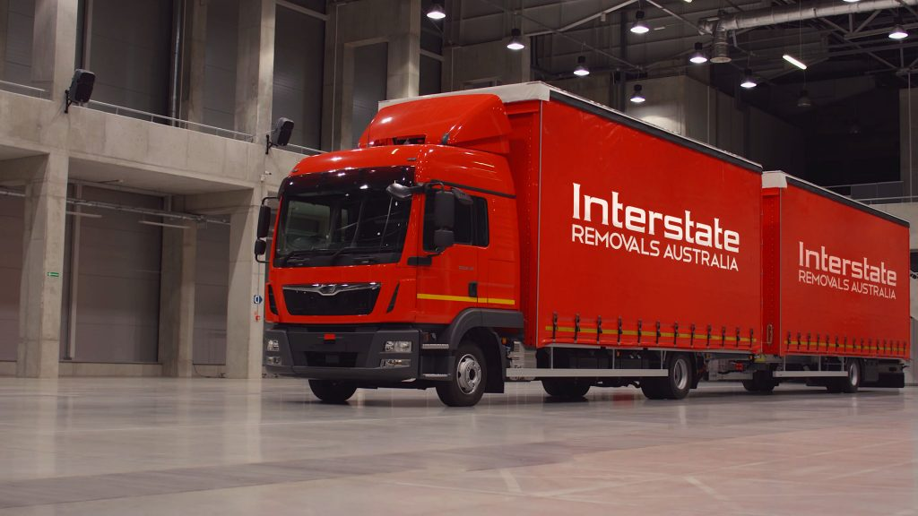Interstate Removals Trucks Large